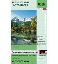Wanderkarten Steiermark BEV-Karte 4207-West, Hinterstoder 1:25.000 BEV – Bundesamt für Eich- und Vermessungswesen