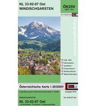 Wanderkarten Oberösterreich BEV-Karte 4207-Ost, Windischgarsten 1:25.000 BEV – Bundesamt für Eich- und Vermessungswesen
