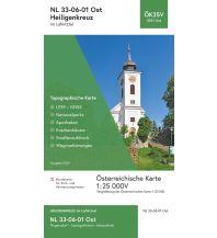 Wanderkarten Burgenland BEV-Karte 5101-Ost, Heiligenkreuz im Lafnitztal 1:25.000 BEV – Bundesamt für Eich- und Vermessungswesen
