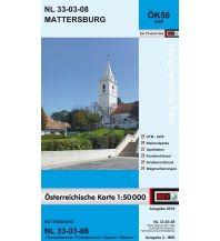 Wanderkarten Burgenland BEV-Karte 5208, Mattersburg 1:50.000 BEV – Bundesamt für Eich- und Vermessungswesen