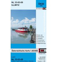 Wanderkarten Burgenland BEV-Karte 5209, Illmitz 1:50.000 BEV – Bundesamt für Eich- und Vermessungswesen
