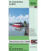 Wanderkarten Burgenland BEV-Karte 5209-West, Illmitz 1:25.000 BEV – Bundesamt für Eich- und Vermessungswesen