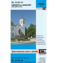 Wanderkarten Burgenland BEV-Karte 5214, Oberpullendorf/Felsopulya 1:50.000 BEV – Bundesamt für Eich- und Vermessungswesen