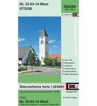 Wanderkarten Burgenland BEV-Karte 5214-West, Stoob 1:25.000 BEV – Bundesamt für Eich- und Vermessungswesen