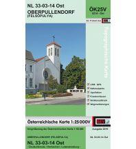 Wanderkarten Burgenland BEV-Karte 5214-Ost, Oberpullendorf/Felsopulya 1:25.000 BEV – Bundesamt für Eich- und Vermessungswesen