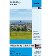 Wanderkarten Burgenland BEV-Karte 5220, Rechnitz 1:50.000 BEV – Bundesamt für Eich- und Vermessungswesen
