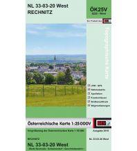 Wanderkarten Burgenland BEV-Karte 5220-West, Rechnitz 1:25.000 BEV – Bundesamt für Eich- und Vermessungswesen