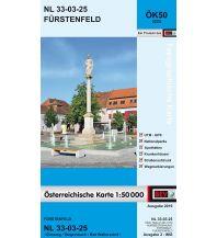 Wanderkarten Steiermark BEV-Karte 5225, Fürstenfeld 1:50.000 BEV – Bundesamt für Eich- und Vermessungswesen