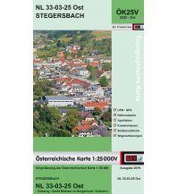 Wanderkarten Burgenland BEV-Karte 5225-Ost, Stegersbach 1:25.000 BEV – Bundesamt für Eich- und Vermessungswesen