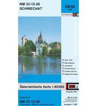 Wanderkarten Wien BEV-Karte 5326, Schwechat 1:50.000 BEV – Bundesamt für Eich- und Vermessungswesen