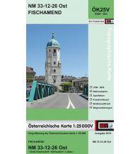 Wanderkarten Wien BEV-Karte 5326-Ost, Fischamend 1:25.000 BEV – Bundesamt für Eich- und Vermessungswesen