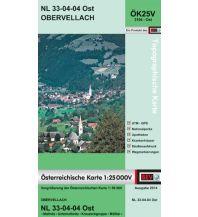 Wanderkarten Kärnten BEV-Karte 3104-Ost, Obervellach 1:25.000 BEV – Bundesamt für Eich- und Vermessungswesen