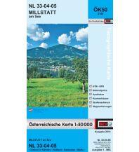 Wanderkarten Kärnten BEV-Karte 3105, Millstatt am See 1:50.000 BEV – Bundesamt für Eich- und Vermessungswesen