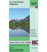 Wanderkarten Kärnten BEV-Karte 3105-West, Reißeck 1:25.000 BEV – Bundesamt für Eich- und Vermessungswesen
