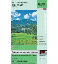 Wanderkarten Kärnten BEV-Karte 3105-Ost, Millstatt am See 1:25.000 BEV – Bundesamt für Eich- und Vermessungswesen