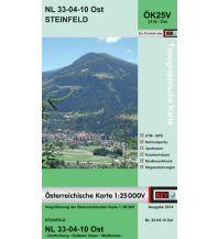 Wanderkarten Kärnten BEV-Karte 3110-Ost, Steinfeld 1:25.000 BEV – Bundesamt für Eich- und Vermessungswesen