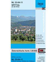 Wanderkarten Kärnten BEV-Karte 3111, Spittal an der Drau 1:50.000 BEV – Bundesamt für Eich- und Vermessungswesen