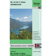 Wanderkarten Kärnten BEV-Karte 3111-West, Hermagor 1:25.000 BEV – Bundesamt für Eich- und Vermessungswesen