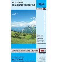 Wanderkarten Kärnten BEV-Karte 3116, Sonnenalpe Nassfeld 1:50.0000 BEV – Bundesamt für Eich- und Vermessungswesen