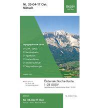 Wanderkarten Kärnten BEV-Karte 3117-Ost, Nötsch 1:25.000 BEV – Bundesamt für Eich- und Vermessungswesen