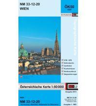 Wanderkarten Wien BEV-Karte 5320, Wien 1:50.000 BEV – Bundesamt für Eich- und Vermessungswesen