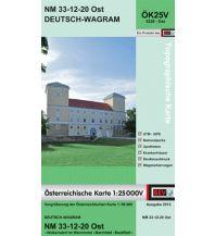Wanderkarten Wien BEV-Karte 5320-Ost, Deutsch-Wagram 1:25.000 BEV – Bundesamt für Eich- und Vermessungswesen