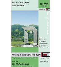Wanderkarten Tirol BEV-Karte 3103-Ost, Winklern 1:25.000 BEV – Bundesamt für Eich- und Vermessungswesen