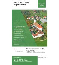 Wanderkarten Oberösterreich BEV-Karte 3318-West, Engelhartszell 1:25.000 BEV – Bundesamt für Eich- und Vermessungswesen