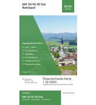 Wanderkarten Oberösterreich BEV-Karte 3318-Ost, Rohrbach in Oberösterreich, 1:25.000 BEV – Bundesamt für Eich- und Vermessungswesen