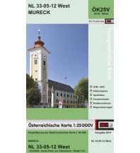 Wanderkarten Steiermark BEV-Karte 4112-West, Mureck 1:25.000 BEV – Bundesamt für Eich- und Vermessungswesen
