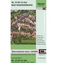 Wanderkarten Steiermark BEV-Karte 4112-Ost, Bad Radkersburg 1:25.000 BEV – Bundesamt für Eich- und Vermessungswesen