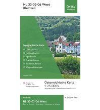 Wanderkarten Niederösterreich BEV-Karte 4206-West, Kleinzell 1:25.000 BEV – Bundesamt für Eich- und Vermessungswesen