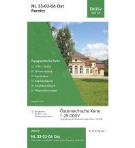 Wanderkarten Niederösterreich BEV-Karte 4206-Ost, Pernitz 1:25.000 BEV – Bundesamt für Eich- und Vermessungswesen