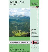 Wanderkarten Steiermark BEV-Karte 4211-West, Veitsch 1:25.000 BEV – Bundesamt für Eich- und Vermessungswesen