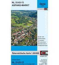Wanderkarten Steiermark BEV-Karte 5213, Aspang-Markt 1:50.000 BEV – Bundesamt für Eich- und Vermessungswesen
