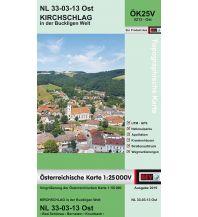Wanderkarten Niederösterreich BEV-Karte 5213-Ost, Kirchschlag in der Buckligen Welt 1:25.000 BEV – Bundesamt für Eich- und Vermessungswesen