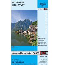Wanderkarten Salzkammergut BEV-Karte 3217, Hallstatt 1:50.000 BEV – Bundesamt für Eich- und Vermessungswesen