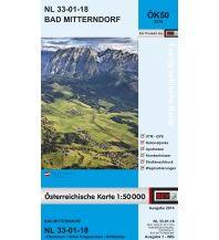 Wanderkarten Österreich BEV-Karte 3218, Bad Mitterndorf 1:50.000 BEV – Bundesamt für Eich- und Vermessungswesen