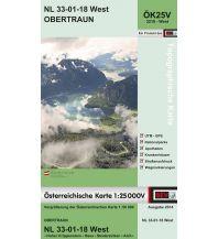 Wanderkarten Salzkammergut BEV-Karte 3218-West, Obertraun 1:25.000 BEV – Bundesamt für Eich- und Vermessungswesen