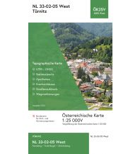 Wanderkarten Niederösterreich BEV-Karte 4205-West, Türnitz 1:25.000 BEV – Bundesamt für Eich- und Vermessungswesen