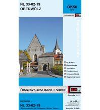 Wanderkarten Steiermark BEV-Karte 4219, Oberwölz 1:50.000 BEV – Bundesamt für Eich- und Vermessungswesen