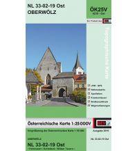 Wanderkarten Steiermark BEV-Karte 4219-Ost, Oberwölz 1:25.000 BEV – Bundesamt für Eich- und Vermessungswesen