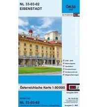 Wanderkarten Niederösterreich BEV-Karte 5202, Eisenstadt 1:50.000 BEV – Bundesamt für Eich- und Vermessungswesen
