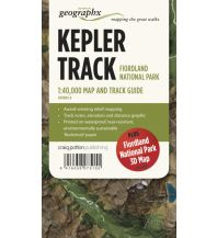 Wanderkarten Neuseeland Craig Potton Great Walks WK 3 Neuseeland - Kepler Track - Fiordland National Park 1:40.000 Craig Potton Publishing