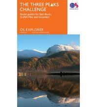 Wanderkarten Britische Inseln OS Explorer Map Spezial, The Three Peaks Challenge 1:25.000 Ordnance Survey