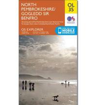 Wanderkarten Britische Inseln OS Leisure Explorer Map 35 Großbritannien - North Pembrokeshire 1:25.000 Ordnance Survey