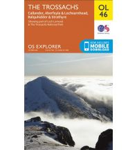 Wanderkarten Schottland OS Explorer Map OL46 Großbritannien - The Trossachs 1:25.000 Ordnance Survey