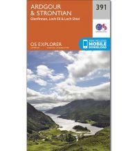 Wanderkarten Britische Inseln OS Explorer Map 391 Großbritannien - Ardgour & Strontian 1:25.000 Ordnance Survey