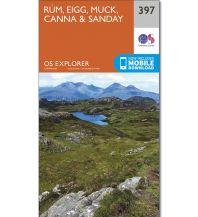Wanderkarten Britische Inseln OS Explorer Map 397 Großbritannien - Rum, Eigg, Muck, Canna & Sanday 1:25.000 Ordnance Survey