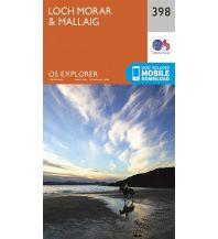 Wanderkarten Schottland OS Explorer Map 398 Großbritannien - Loch Morar & Mallaig 1:25.000 Ordnance Survey